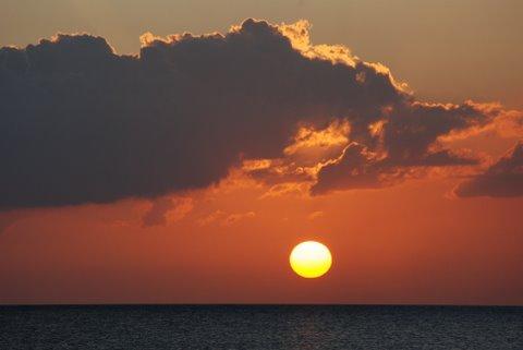 coucher soleil ile jeunesse cuba